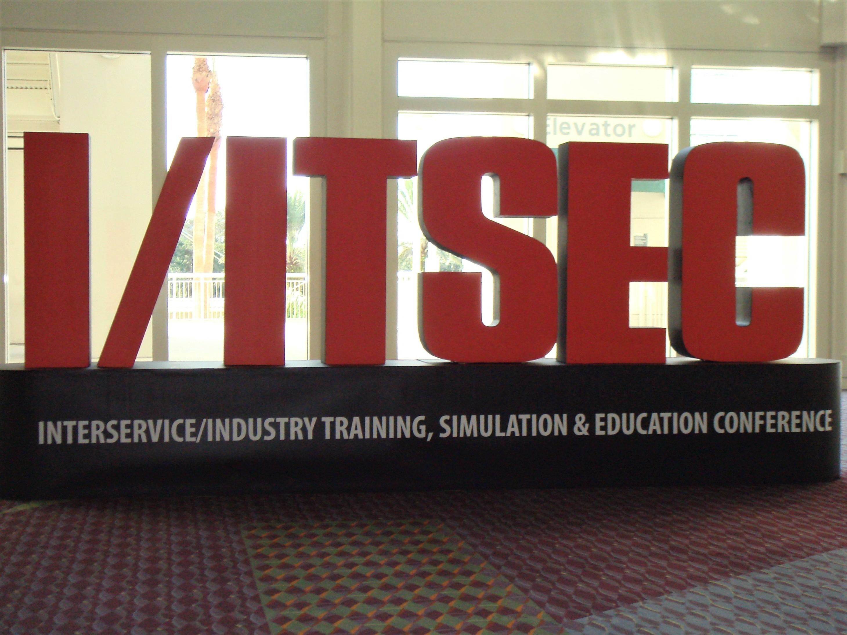 L'I/ITSEC : le salon de la simulation